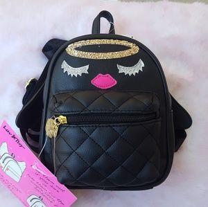 NWT Betsey Johnson Mini Backpack